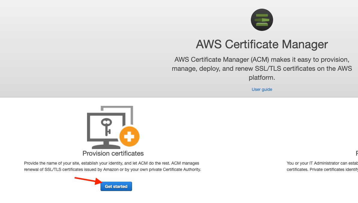 Provision certificates