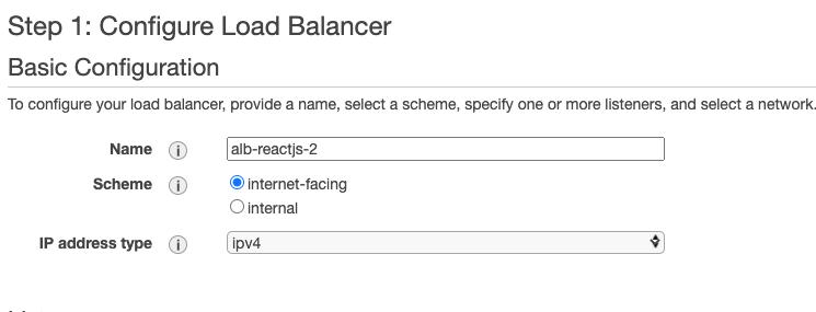 Configure Load Balancer