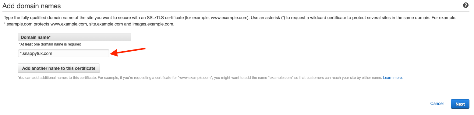 Add-domain-names