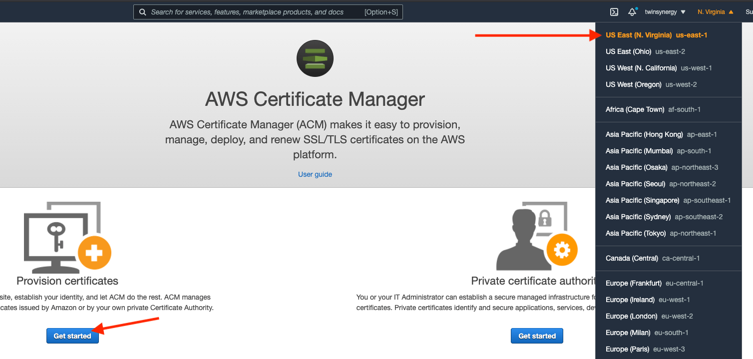 aws-certificate-manager